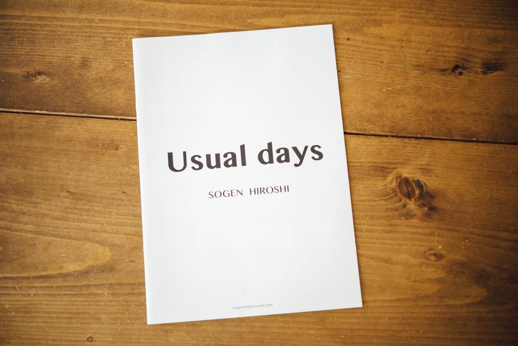 写真展Usualdaysの小冊子