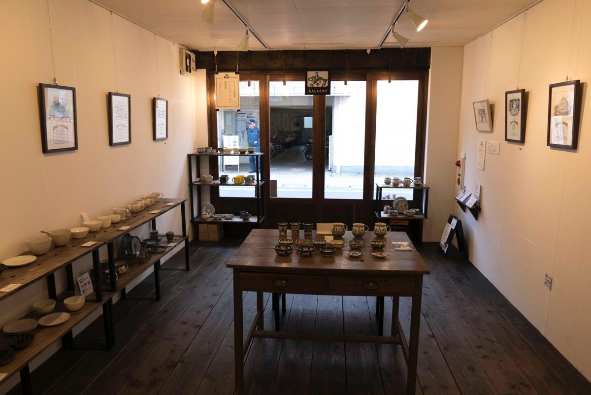 タビノコトバ展の開催場所・水平線ギャラリーについて