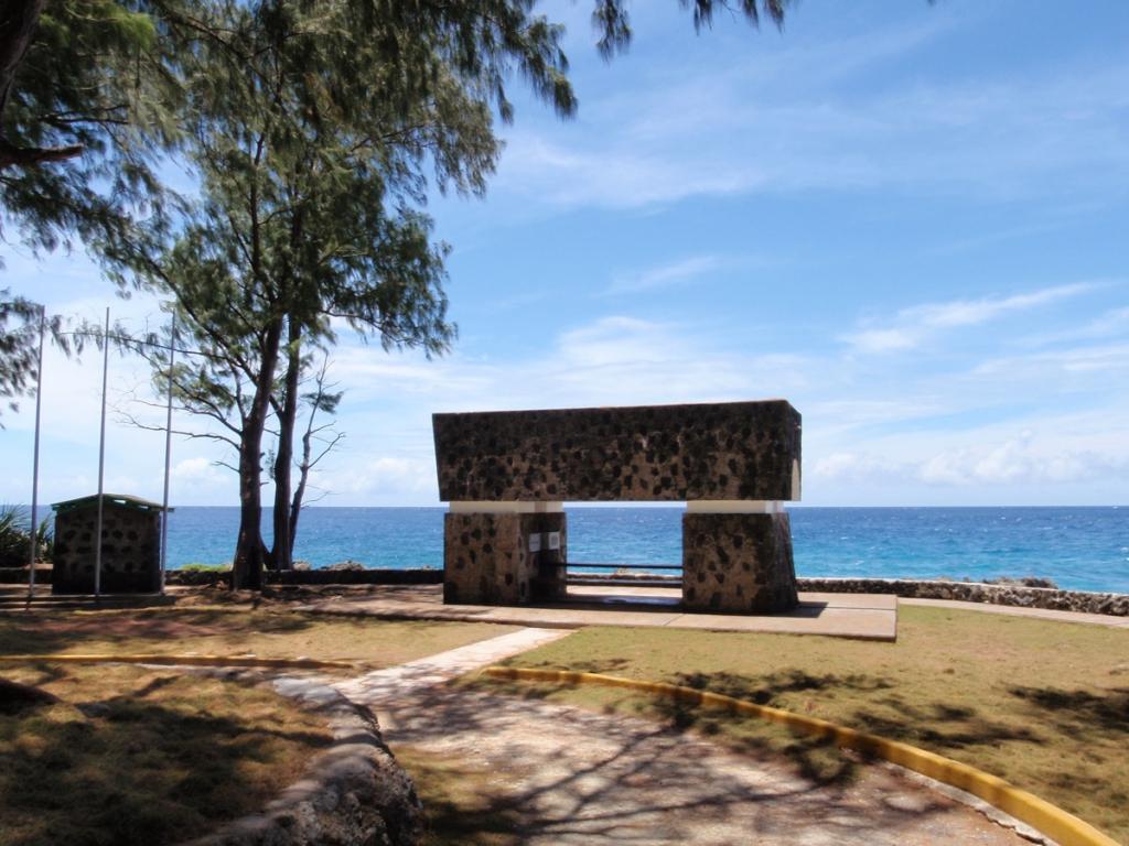 ペリリュー島の景色